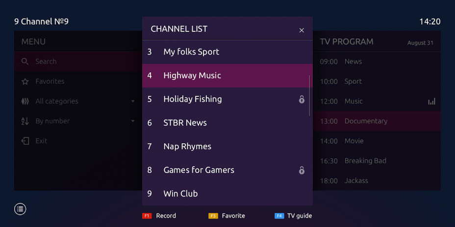 Ministra Player for Android TV and STB 1 3 7_7 Download APK
