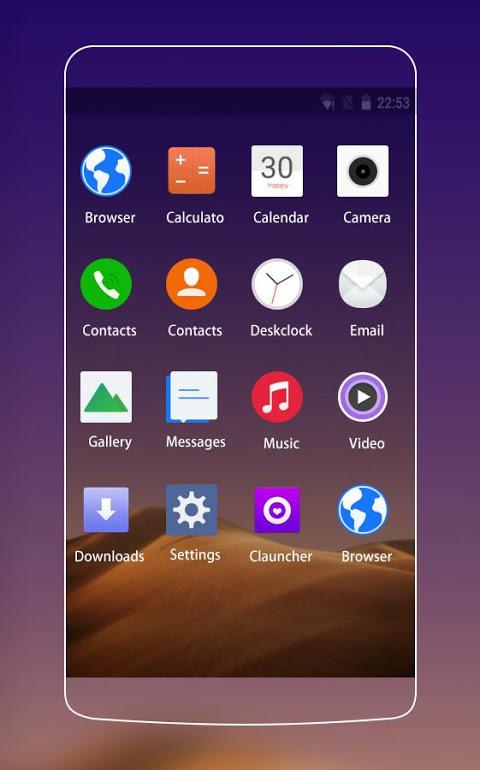 Theme for Vivo Y55L HD screenshot 2