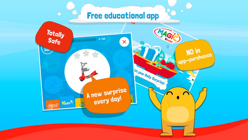 free magic kinder app download