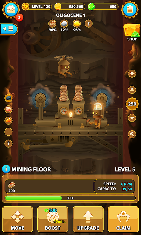 Deep Town: Mining Factory screenshot 1