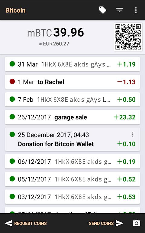 Bitcoin Wallet screenshot 7
