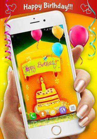 Happy Birthday Live Wallpaper Screenshot 4