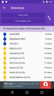 Trainsity Manila LRT MRT PNR screenshot 5