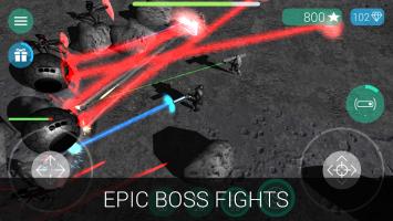 CyberSphere: Sci-fi Shooter Screen