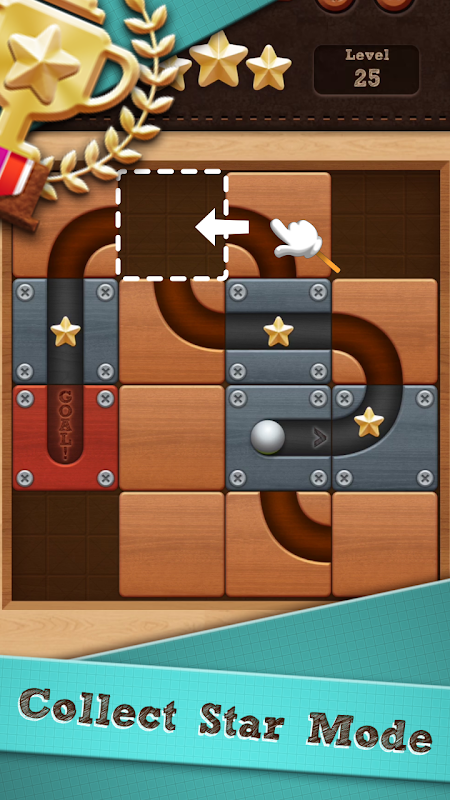 Roll the Ball� - slide puzzle screenshot 1
