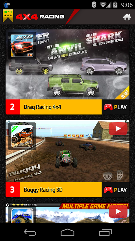 4X4 Racing Games screenshot 2