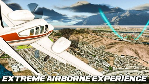 City Flight Airplane Flying Simulator screenshot 2
