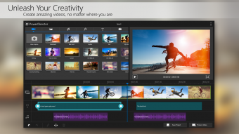 PowerDirector Video Editor App Screenshot