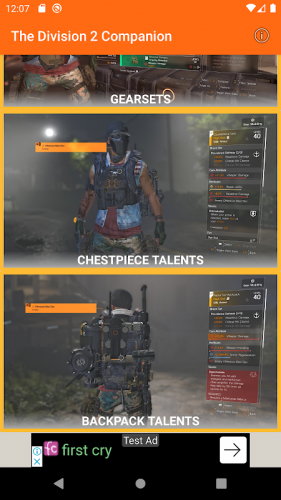 The Division 2 Companion App Game Weekly Vendor 0 10 Beta Download Android Apk Aptoide
