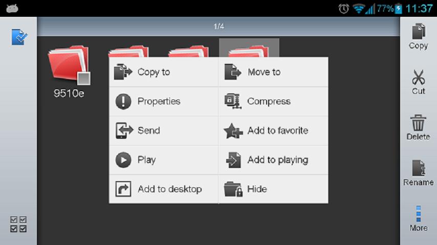 ES Datei Explorer screenshot 1