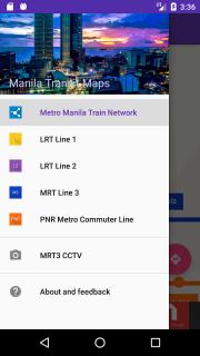 Trainsity Manila LRT MRT PNR screenshot 2