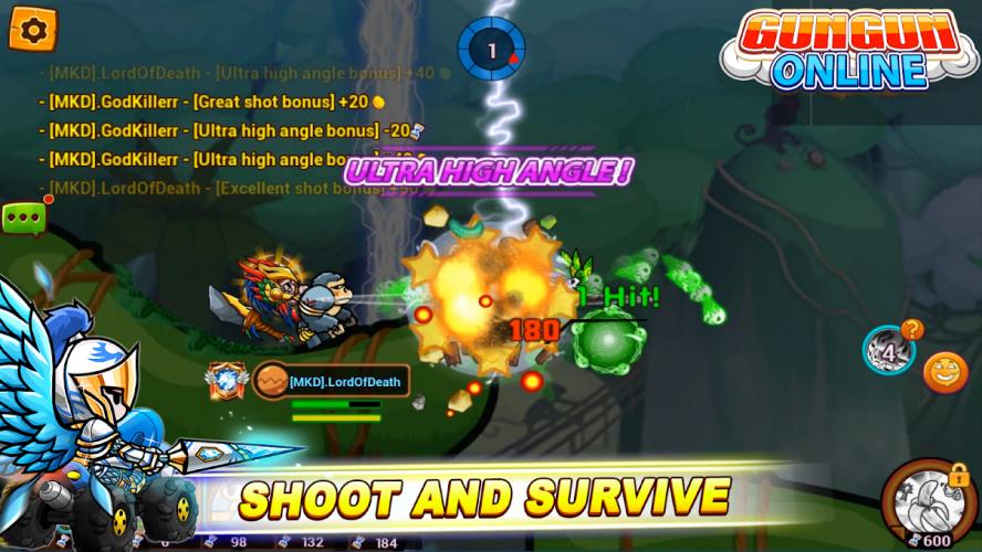 Gungun Online: shooting game screenshot 4