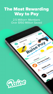 Raise - Discounted Gift Cards screenshot 1