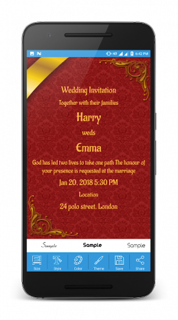 Wedding Card Maker 5 2 0 Download Apk For Android Aptoide