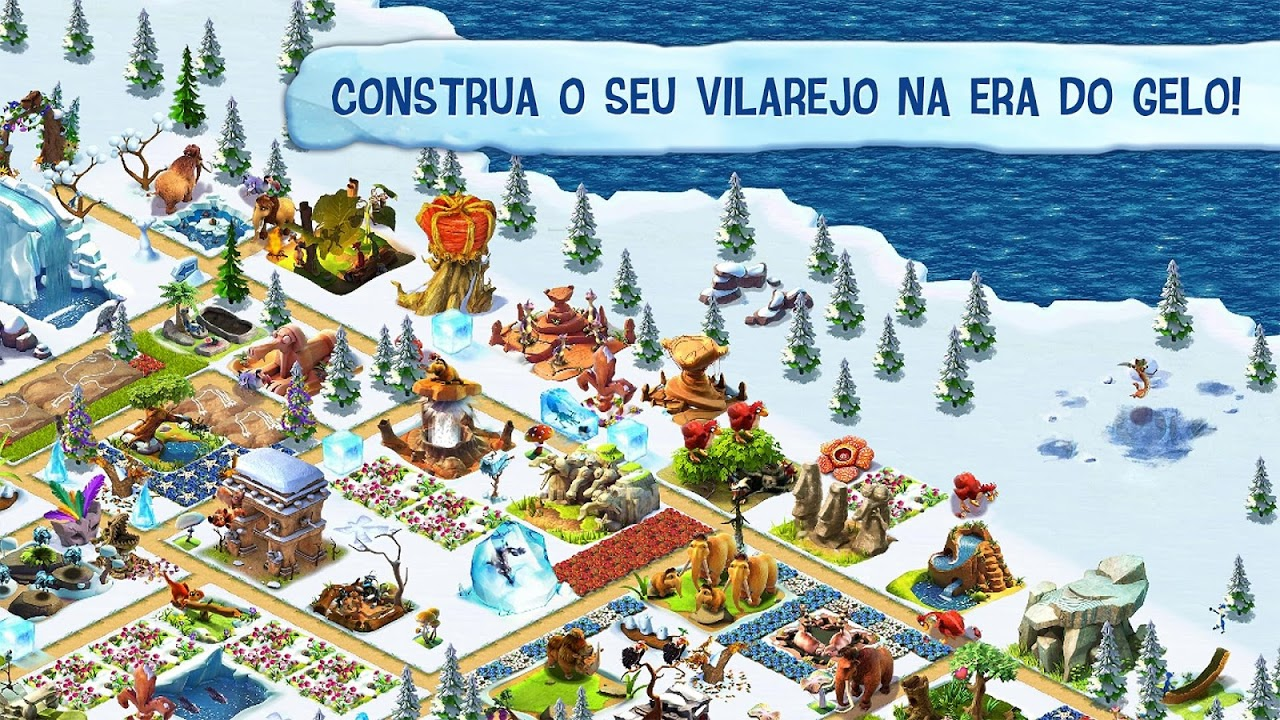 A Idade do Gelo: Aldeia screenshot 1