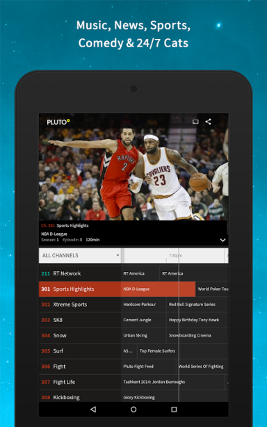 pluto tv app download for android