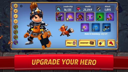 Royal Revolt 2: Tower Defense RPG and War Strategy screenshot 2