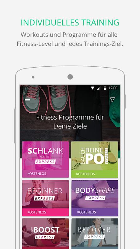 Gymondo - Fitness Kurse screenshot 1