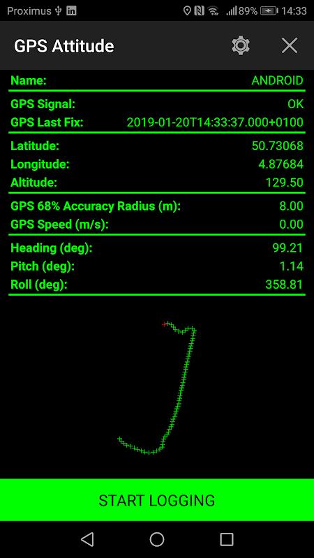 GPS Attitude screenshot 1