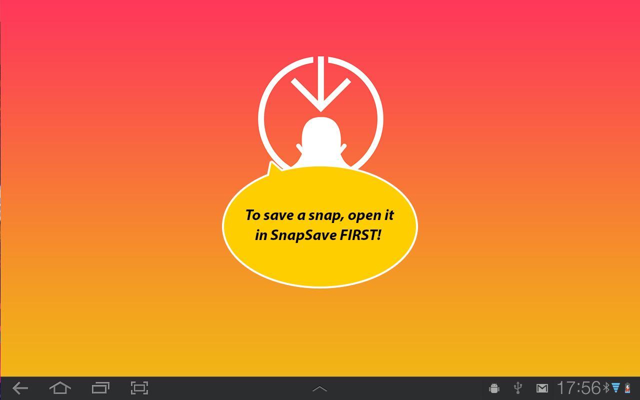 Snapchat install aptoide