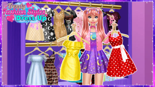 Trendy Fashion Styles Dress Up screenshot 1