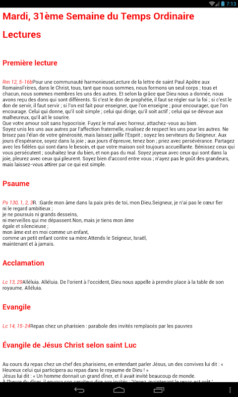 eprex liturgie