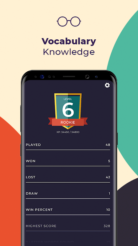 7 Letters - Multiplayer Word Puzzle Game screenshot 2