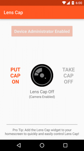 Lens Cap Disable Camera 1 78 Download Android Apk Aptoide