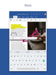 Microsoft Word: Write and edit docs on the go screenshot 5