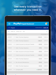 PayPal Prepaid 5 4 0 Download APK for Android - Aptoide