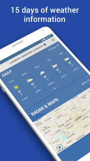 Weather: Forecast & Radar Maps screenshot 5