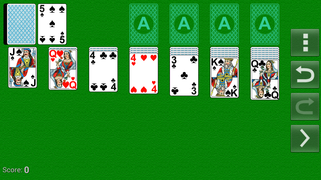 Solitaire-Spider-FreeСell screenshot 1