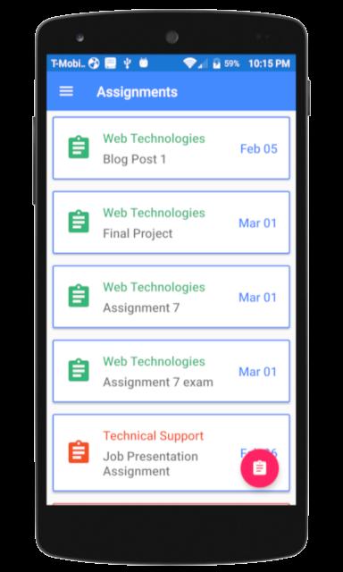 My School Planner screenshot 1