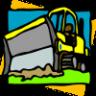 Preschool Tractor Lunchbox