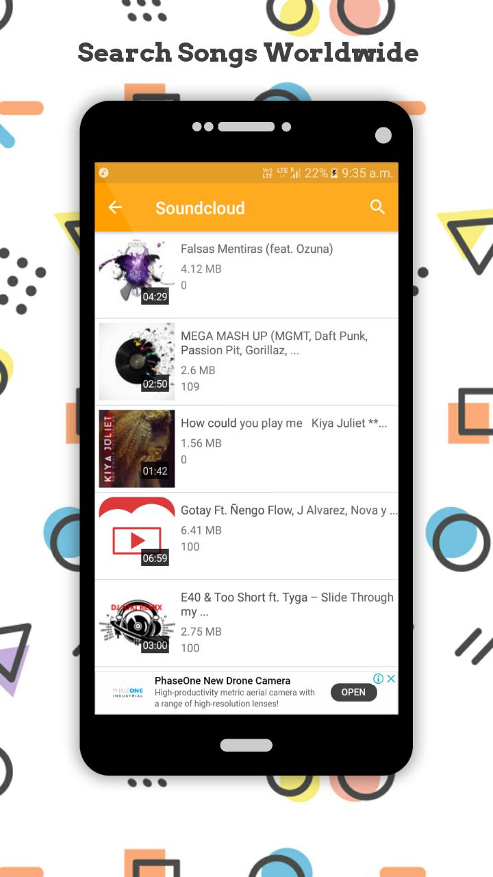 Ucmate - Youtube   Soundcloud   Saavn Downloader screenshot 5