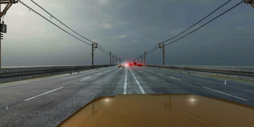 VR Racer - Highway Traffic 360 (Google Cardboard) screenshot 6