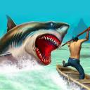 Wild animals - shark hunting
