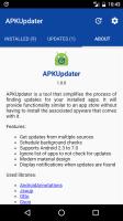 Apk Updater Apk installer Screen