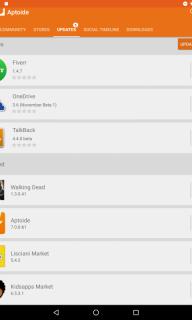Aptoide Dev V8 screenshot 1