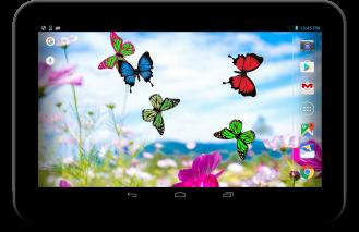 Butterfly live wallpaper Screenshot