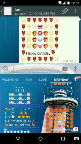 Birthday Art Emoji Keyboard 1 7 Laden Sie Apk Fur Android