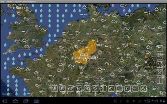 Weather, Alerts, Barometer Screenshot