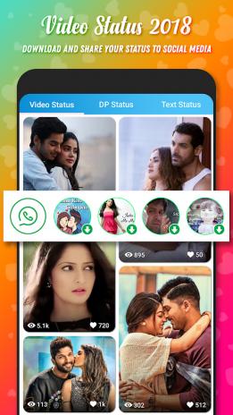 Video Status For Whatsapp Fb 25 Descargar Apk Para