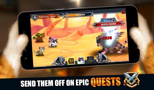 Castle Cats: Epic Story Quests screenshot 2
