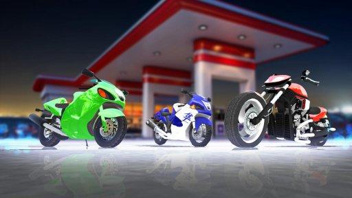 Highway Moto Rider - Traffic Race screenshot 5