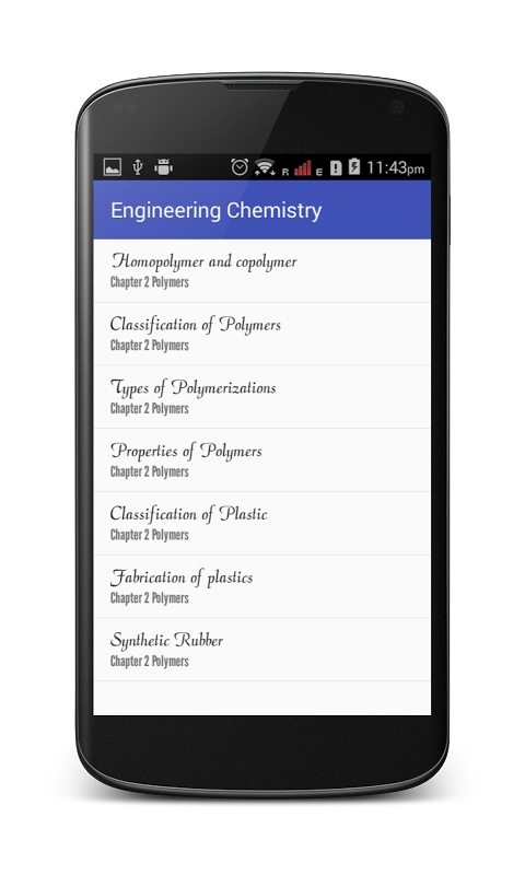 Engineering Chemistry screenshot 2