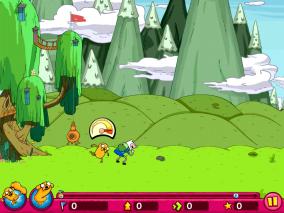 Super Jumping Finn Screenshot