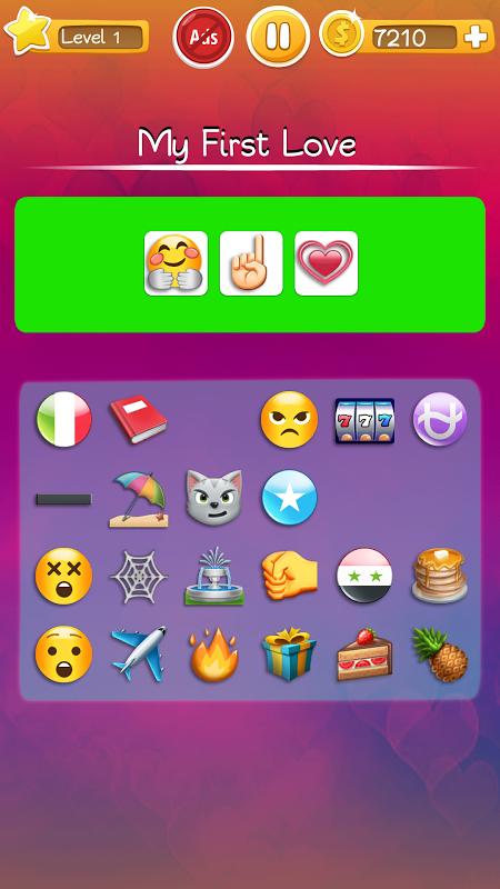 Words to Emojis – Fun Emoji Guessing Quiz Game screenshot 2