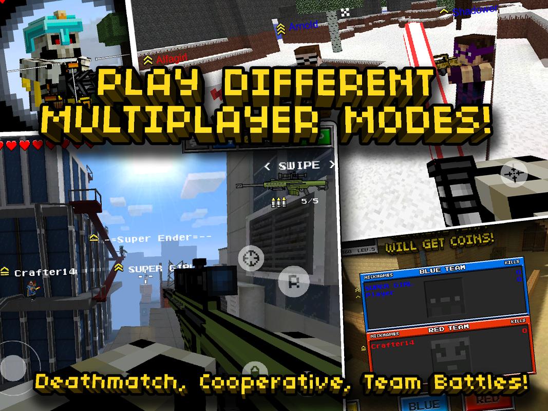 Pixel Gun 3D (Minecraft style) screenshot 2