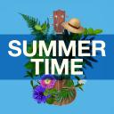 Summer time Atom Theme